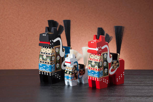 Decorate-Your-Own Yawata-Uma aka 'Hachinohe Horses'